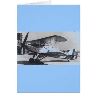 1938 Hawker Fury MkI Greeting Card