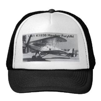 1938 Hawker Fury MkI Trucker Hat