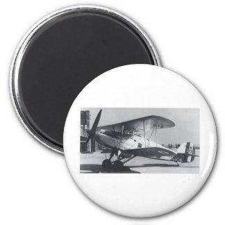 1938 Hawker Fury MkI 2 Inch Round Magnet