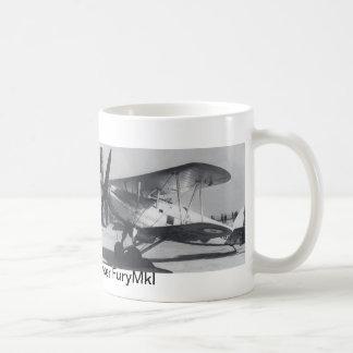 1938 Hawker Fury MkI Classic White Coffee Mug