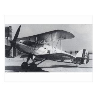 1938 Hawker Fury MkI Postcard