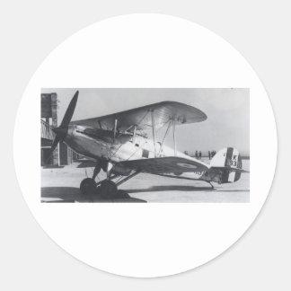 1938 Hawker Fury MkI Classic Round Sticker