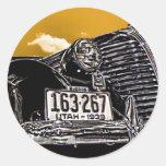 1938 Hudson Terraplane Businessmans' Coupe Stickers