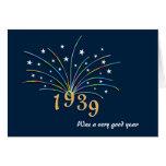 1939 A Very Good Year 76th Birthday Greeting Card