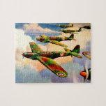 1939 British Fairey Junior Medium Bomber Jigsaw Puzzle
