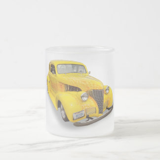 1939 CHEVROLET FROSTED GLASS COFFEE MUG
