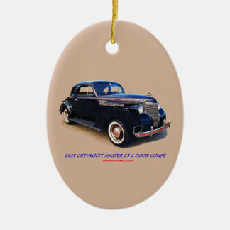 1939 CHEVROLET MASTER 85 2 DOOR COUPE CERAMIC ORNAMENT
