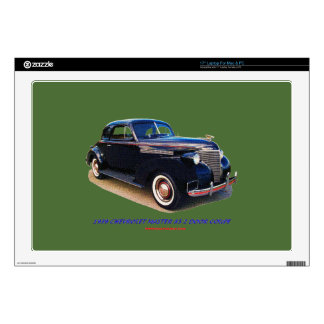 1939 CHEVROLET MASTER 85 2 DOOR COUPE SKINS FOR LAPTOPS
