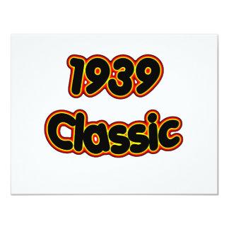 1939 Classic Card