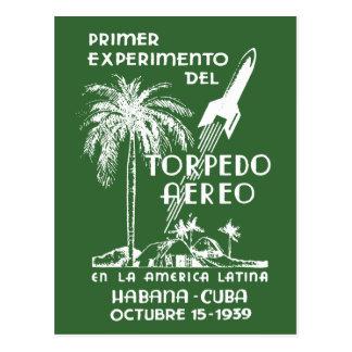 1939 Cuban Rocket Mail Post Cards
