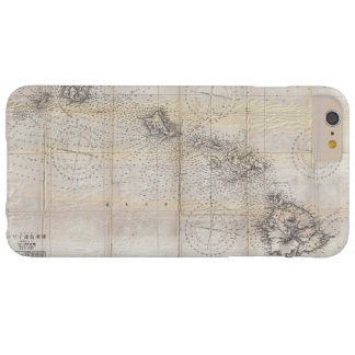 1939 Japanese Map of Hawaii Pearl Harbor Barely There iPhone 6 Plus Case