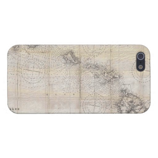 1939 Japanese Map of Hawaii Pearl Harbor iPhone 5 Cover