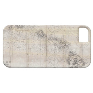 1939 Japanese Map of Hawaii Pearl Harbor iPhone SE/5/5s Case