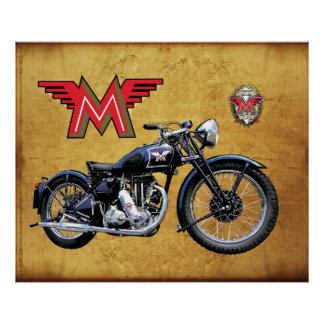 1939 MATCHLESS MOTORCYCLE POSTERS
