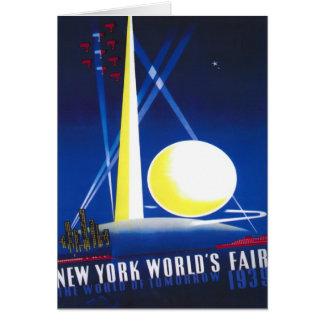 1939 New York World Fair Card