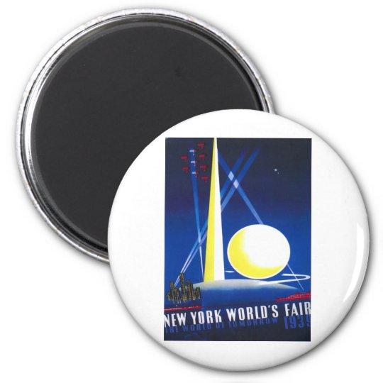 1939 New York World Fair Magnet