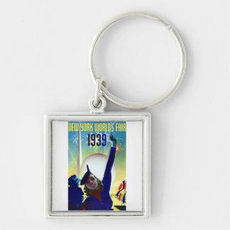 1939 New York World's Fair #2 Keychain