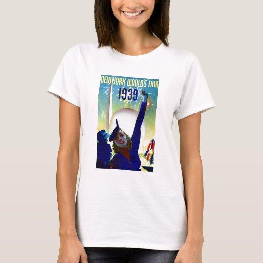 1939 New York World's Fair #2 Tee Shirt