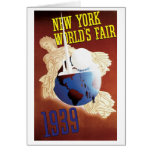 1939 New York World's Fair Card