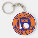 1939 New York World's Fair Key Chain