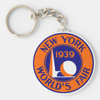 1939 New York World's Fair Keychain