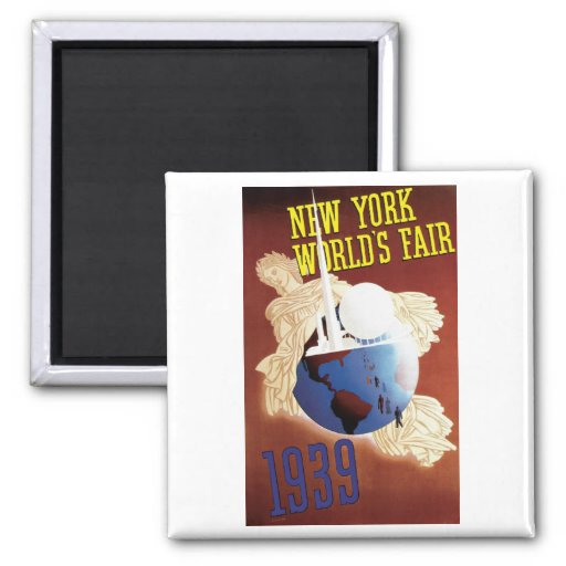 1939 New York World's Fair Magnet
