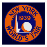 1939 New York World's Fair Poster