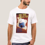 1939 New York World's Fair Poster Tee Shirt