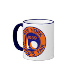 1939 New York World's Fair Ringer Coffee Mug