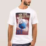 1939 NEW YORK WORLD'S FAIR T-Shirt #2