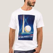 1939 NEW YORK WORLD'S FAIR T-Shirt #3