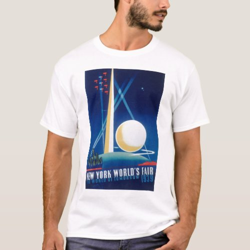 1939 NEW YORK WORLD'S FAIR T-Shirt #3