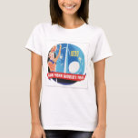 1939 New York's World's Fair Vintage Travel Poster T-Shirt