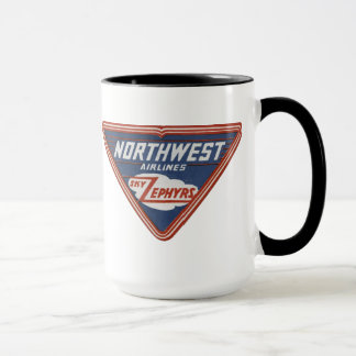 "1939 Northwest Airlines ""Sky Zephyrs"" Coffee Mug"
