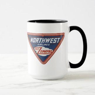 "1939 Northwest Airlines ""Sky Zephyrs"" Coffee Mug"