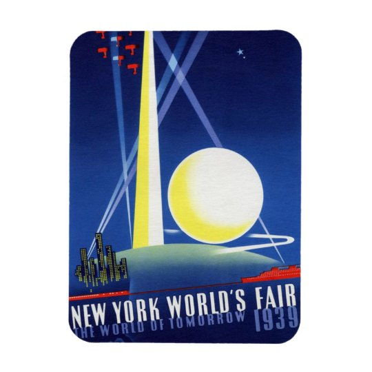 "1939 NYWF - ""World of Tomorrow"" Magnet"