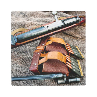 1939 Russian Sniper Rifle Metal Print