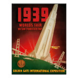 1939 San Fransisco Worlds Fair Poster