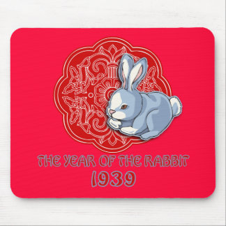 1939 The Year of the Rabbit Gifts Mouse Pad