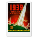 1939 World Fair San Francisco Card