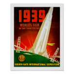 1939 World Fair San Francisco Poster