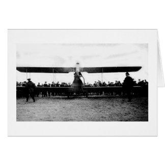 1939 World's Fair Airplane Card