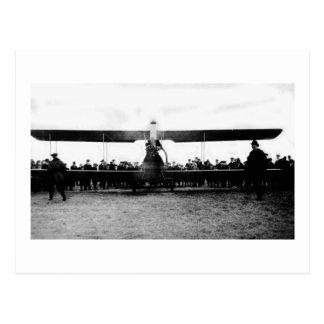 1939 World's Fair Airplane Postcard