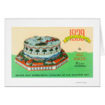 1939 Worlds Fair Cake by Bill Baker in Ojai Card