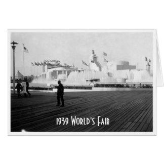 1939 World's Fair Card