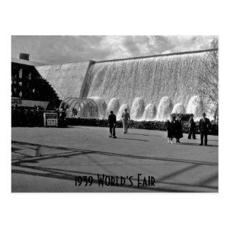 1939 World's Fair Postcard