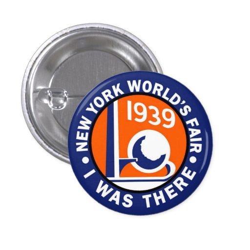 1939 World's Fair Replica Button
