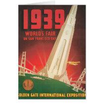 1939 World's Fair San Francisco Travel Poster