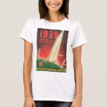 1939 World's Fair San Francisco Travel Poster T-Shirt