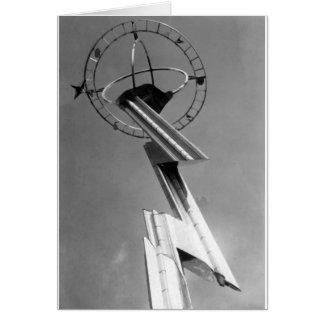 1939 World's Fair Tower New York Card